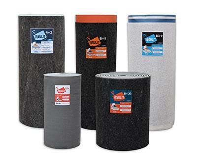 La gamme insulit : des sous-couches acoustiques pour chapes de qualité certifiée