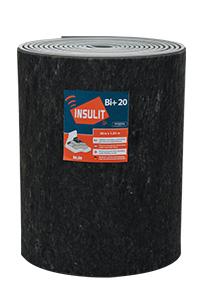 insulit Bi+20 akoestische en thermische onderlaag voor chape