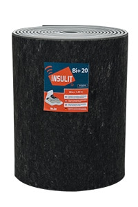insulit Bi+20 sous-couche acoustique et thermique pour chape