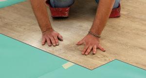 insulit LVT akoestische isolatie voor lvt vloeren