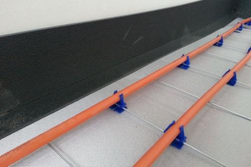 insulit Bi+9 sous-couche acoustique de haute qualité pour chape flottante