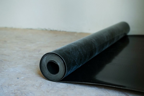 isolation acoustique d'un planchers bois grâce à l'insulMass 3.5