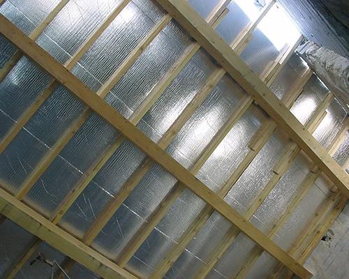 Thermosulit isolant thermique mince et souple pour toiture