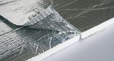 Thermosulit dunne thermische isolatie van daken